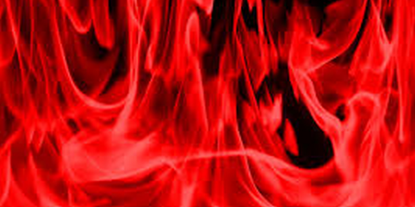 Red flames